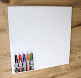 Whiteboard beschrijfbaar
