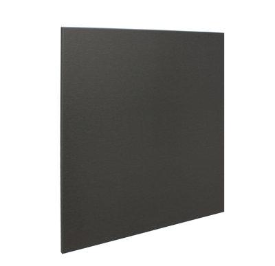 RVS achterwand geborsteld zwart 60 x 70cm