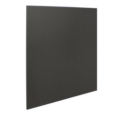 RVS achterwand geborsteld zwart 60 x 75cm