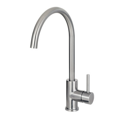 Stainless steel kitchen faucet CA105l