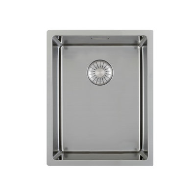 Caressi CAPP34D46R10 Stainless steel kitchen sink