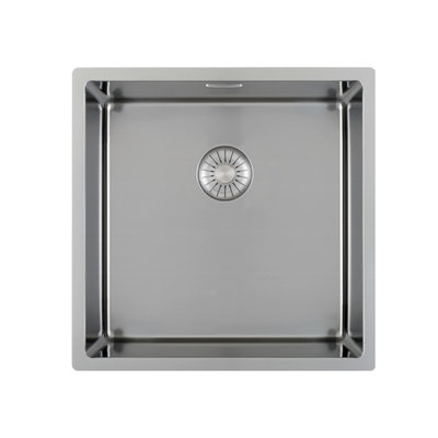Caressi CAPP46D46R10 Stainless steel kitchen sink