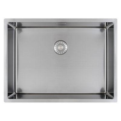 Caressi CAPP55D46R10 Stainless steel kitchen sink
