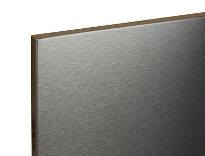 RVS magneetbord Zwart 120x75