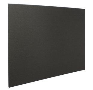 Achterwand zwart 90 x 75